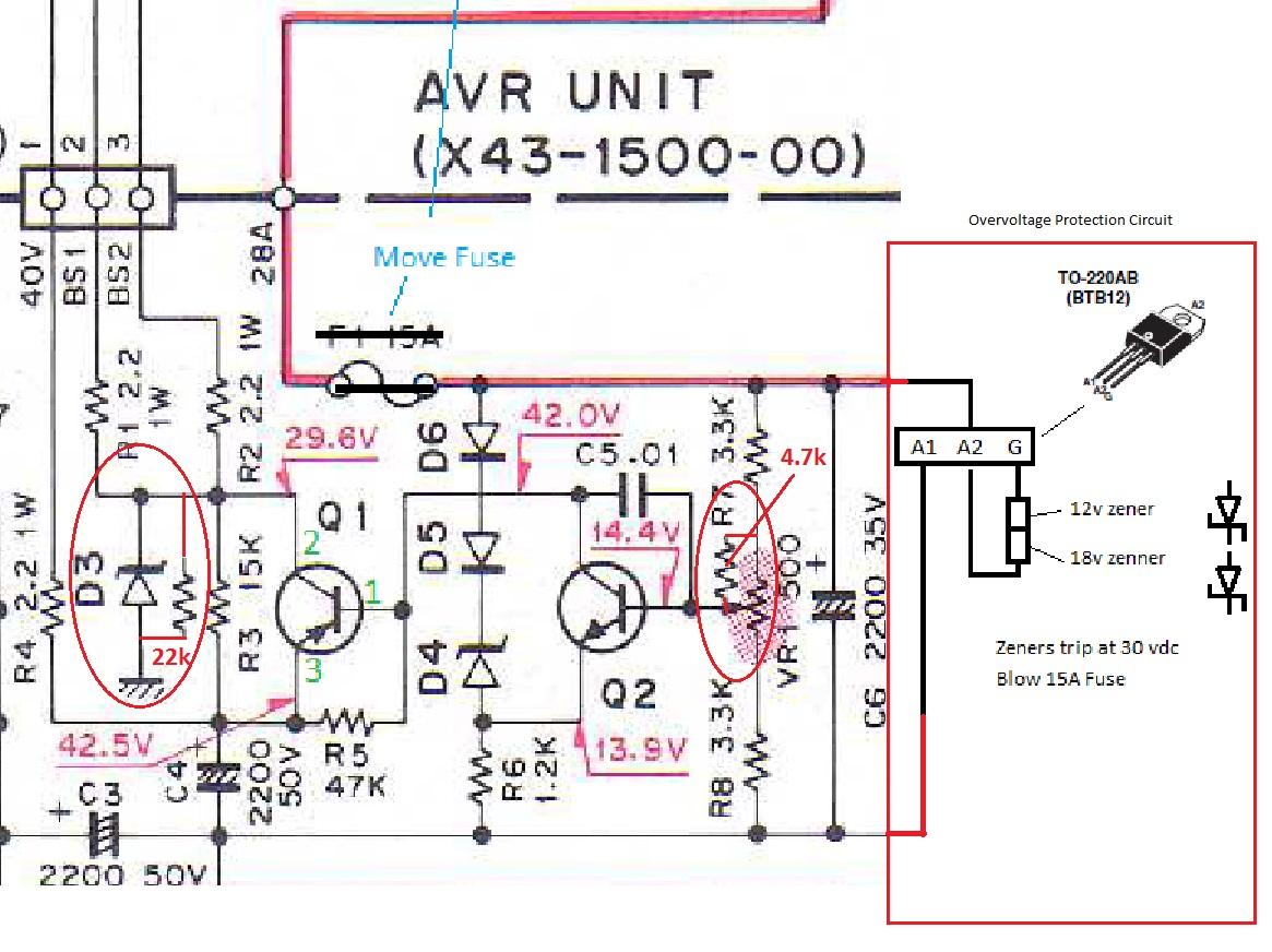 Generator Avr Wiring Diagram Libraries Regulator On Three Phase Circuit Diagrams Schemafor Library Pdf